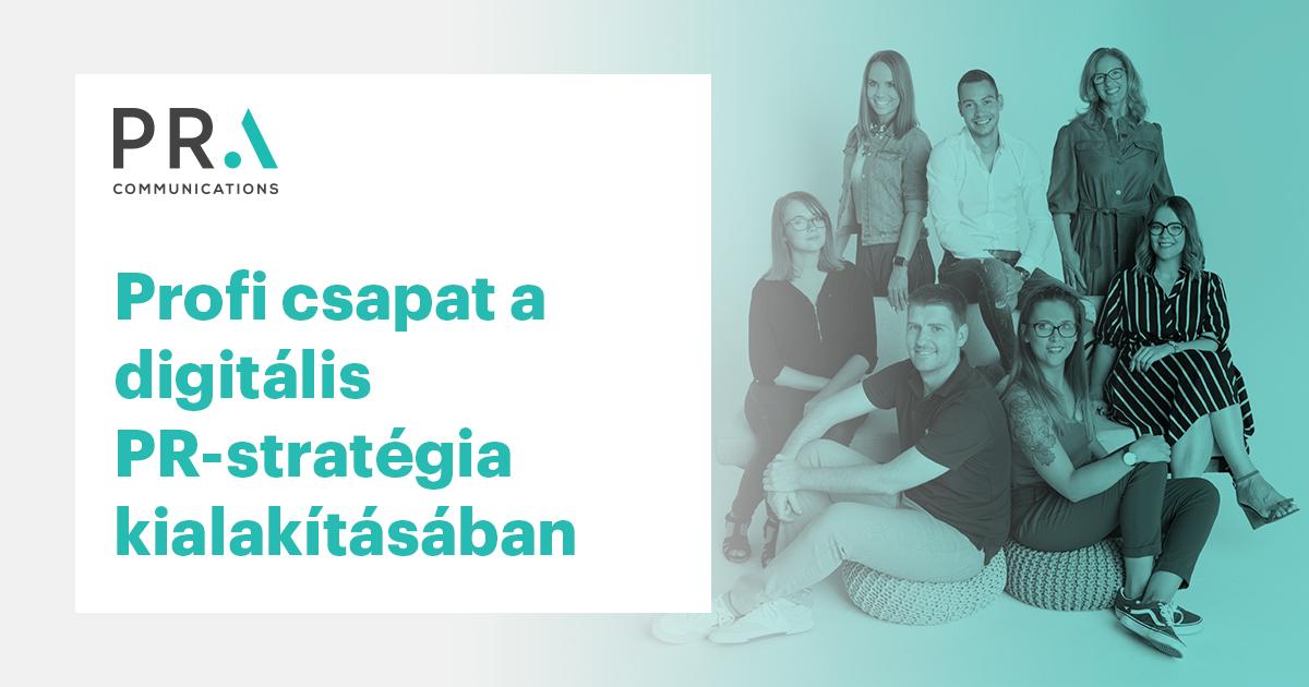 Profi csapat a digitális PR -stratégia kialakításában