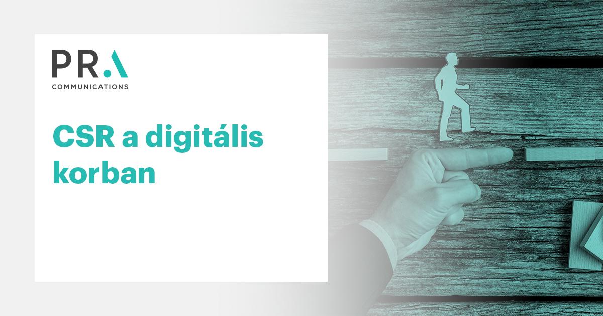 CSR a digitális korban