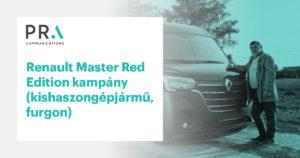 Védett: Renault Master Red Edition kampány (kishaszongépjármű, furgon)
